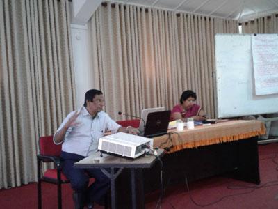 Training Workshop on Micro Plans