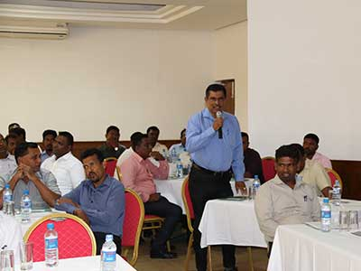 Training Workshop for DWC Officers