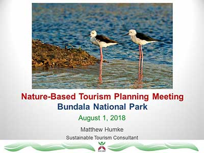 Nature-based Tourism Planning Meeting