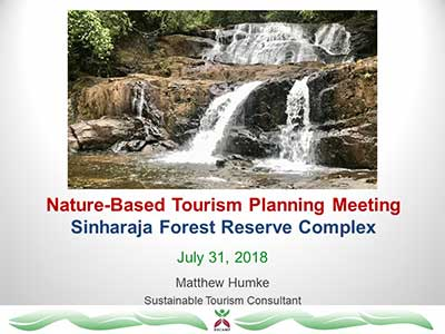 Nature-based tourism
