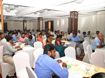 Training Workshop on Monitoring and Implementation