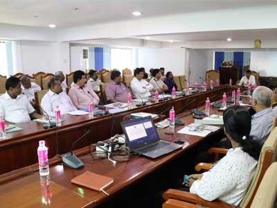 A training workshop on sub-proposal writing
